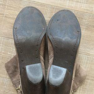 6bee28ba7e3a3 Sam Edelman Shoes - Sam Edelman  Lucca  4 Buckle Suede Booties Sz 10